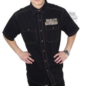 Harley-Davidson Eagle Short Sleeve Shirt